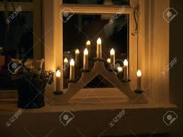 window candle lights with timer window candle lights led electric white