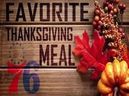sixers favorite thanksgiving meals philadelphia 76ers