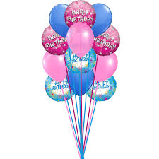 delivery of balloons for birthdays bunch of lovely happy birthday balloons send this beautiful bunch