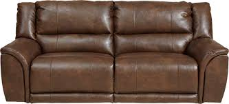 Extra Wide Leather Chair Catnapper Carmine Power Lay Flat Reclining Sofa Timber Cn 64151