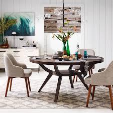 round dining table deals arc base pedestal table west elm