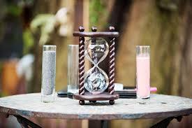 wedding sand ceremony vases the aegean wedding unity sand ceremony hourglass by heirloom