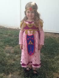 Zelda Costumes Halloween Crochet Princess Zelda Costume Legend Zelda Geekery
