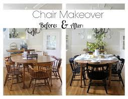 How To Refinish Kitchen Chairs Best 25 Kitchen Chair Makeover Ideas On Pinterest Kitchen Chair