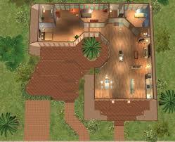 mod the sims shell villa