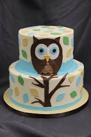 making the right owl baby shower cake party xyz