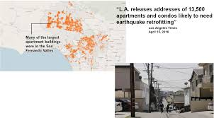 Earthquake Los Angeles Map by Condo Hoa Special Assessments Possible Due To Mandatory Earthquake