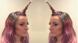 a new hairstyle new hairstyle has women braiding unicorn u0027horns u0027 into their hair