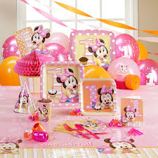 baby minnie mouse 1st birthday instant download digital clip art