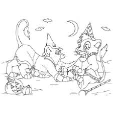 25 free printable lion king coloring pages
