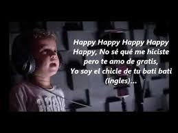 happy letra nacho cantando con sus hijos leomarmtz