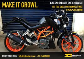 Ktm D Ktm Duke 390 Grunt Exhaust System Black Edition Version 2