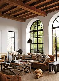 cozy livingroom 36 cozy living room designs with exposed wooden beams digsdigs