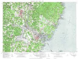 Map Maine Maine 1950s Usgs Topo Maps