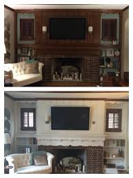 wood paneling makeover before and after painting wood paneling and cabinets white around