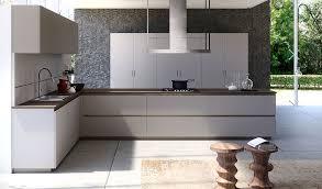 aran cuisine contemporary kitchen wood veneer lacquered wood island lab13