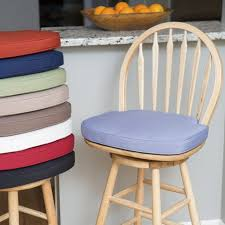 furniture cozy bar stool cushions for kitchen bar stools