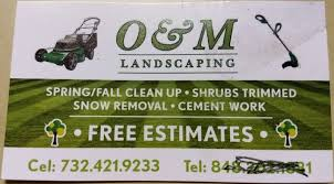 M And M Landscaping by Business Card Collecting Blog Seo Content Writer Chris Keuling U0027s