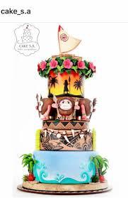 66 best disney u0027s moana cakes images on pinterest disney cakes