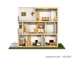 three story building three story building groceries household goods stock