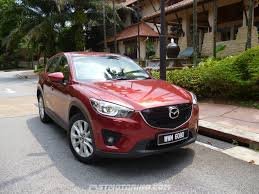 mazda mitsubishi mazda cx 5 compact suv reviewed in malaysia