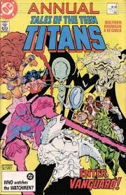 tales teen titans annual 4 issue