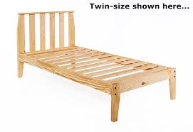 perfect twin bed frame wood 17 best ideas about twin size bed