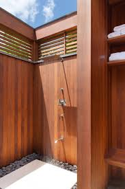 10 excellent examples of outdoor shower designs contemporist
