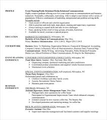 Event Management Job Description Resume by Special Event Planner Resume With Event Planner Resume Event