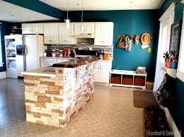 kitchen with island and breakfast bar breakfast bar counter live edge lacquer reality daydream
