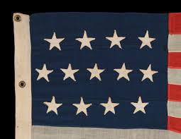 Star Flag Maker Jeff Bridgman Antique Flags And Painted Furniture 13 Stars