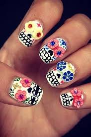 cute halloween nails 36 best nail art influences mexicaines images on pinterest