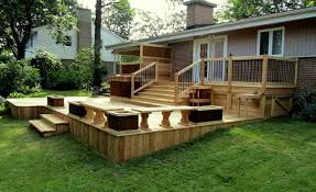 Backyard Decks And Patios Ideas Backyard Wood Patio Ideas Backyard Deck And Patio Ideas