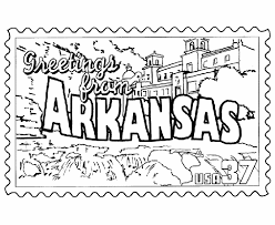 nevada state flag coloring page usa printables arkansas state stamp us states coloring pages