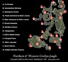 dungeon siege map dungeon siege ii northern greilyn map png papagamer