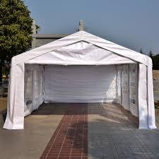 Patio Tent Gazebo by Outsunny 13 U0027x26 U0027 Heavy Duty Outdoor Carport Wedding Party Event