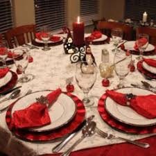 Elegant Christmas Table Decoration Ideas by Impractical Dining Room Elegant Christmas Table Decoration Ideas
