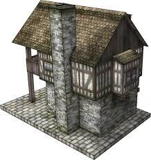 tudor house tudor house 3 paper model dave graffam models fantasy