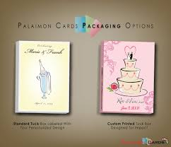 personalized cards wedding wedding favors card decks palaimon cards quality custom and