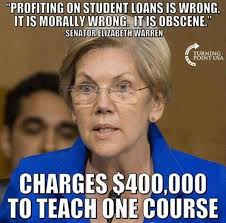 Elizabeth Warren Memes - elizabeth warren s disgusting hypocrisy summarized in meme