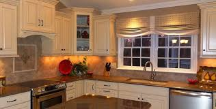Kitchen Cabinet Valances Kitchen Tall White Frame Window Kitchen Combine Plaid Fabric