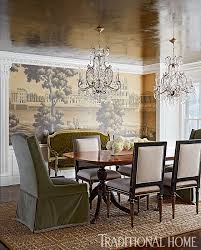 Wallpaper Designs For Dining Room by Top 25 Best Traditional Dining Rooms Ideas On Pinterest