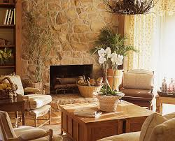 Home Stones Decoration Deco Decorating Fireplace Ideas Interior Excerpt Wooden Mantle