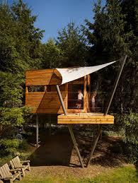 best 25 modern tree house ideas on glass cabin