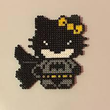 batman kitty perler beads thebeadartbusiness perler