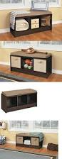 dorchester pine shoe storage bench with cushion cushions decoration