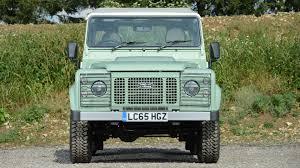 green land rover defender rowan atkinson u0027s rare land rover defender up for auction