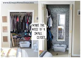make the most out of a small closet hometalk