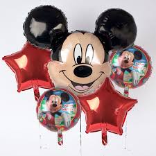 mickey mouse balloon arrangements disney mickey mouse foil helium balloon bouquet only 12 99