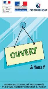Cci Martinique Ccim Fiches Pratiques Pour Vos Formalités Cci Martinique Ccim L Agenda D Accessibilité Programmée
